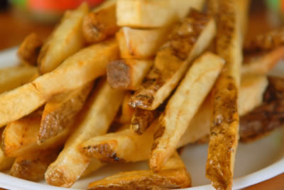 Basket: Seasoned Fries